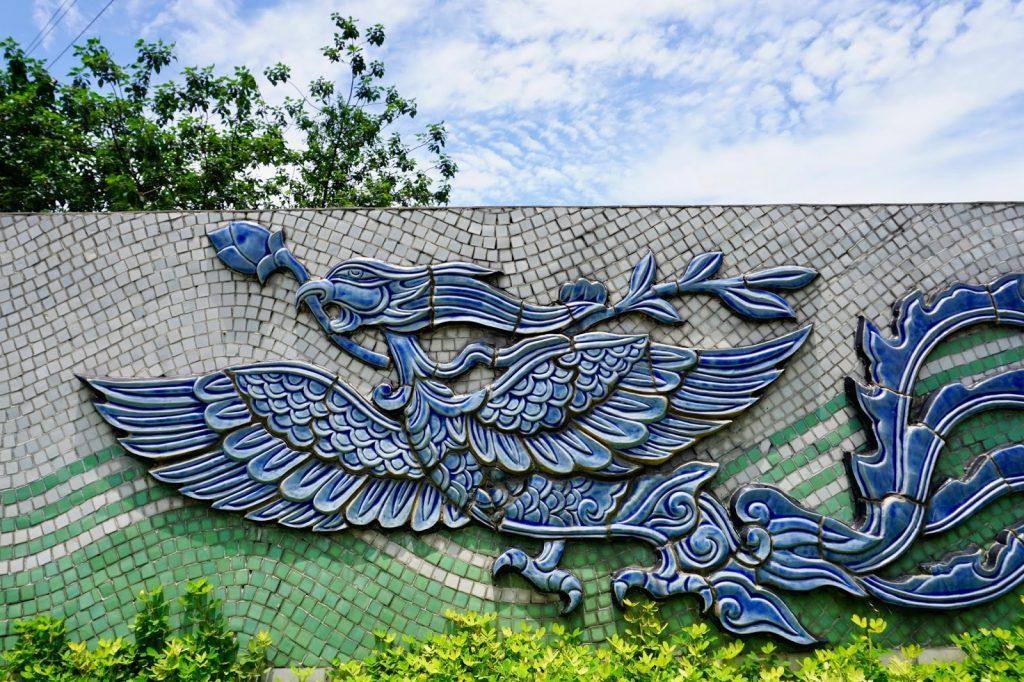 Ceramic Murals in Hanoi