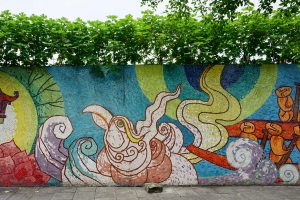 15 Postcard-Worthy Photos of Hanoi's Ceramic Mural Wall