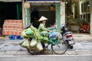 10 Postcard-Worthy Photos of Vietnamese Lady Bicycle Vendors