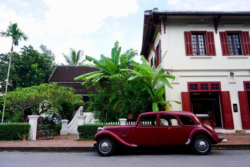 Vintage Car Luang Prabang
