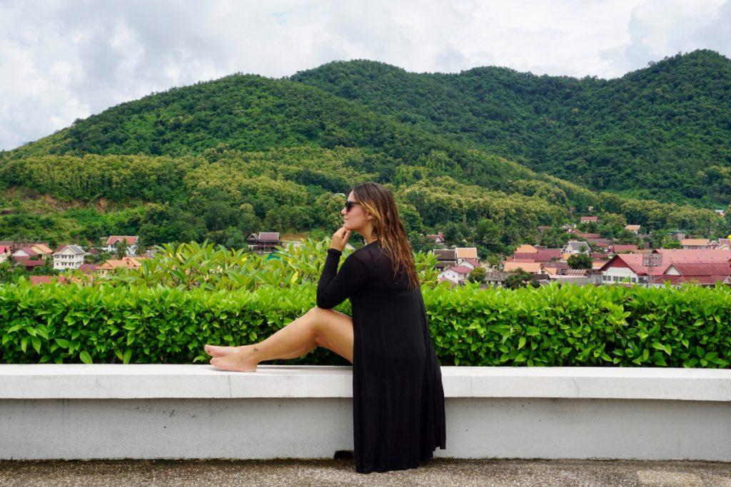 Girl view Laos