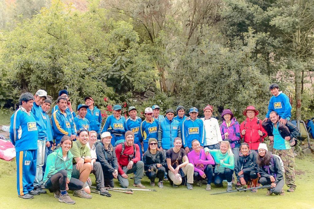 Girl Inca Trail