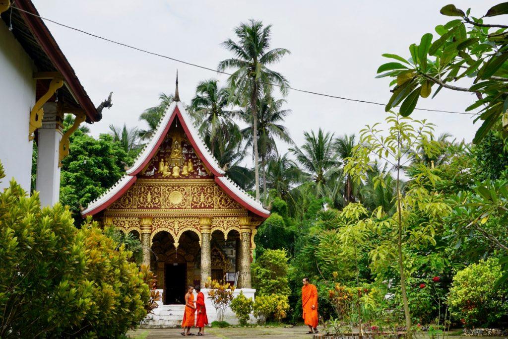 temple Luang Prabang