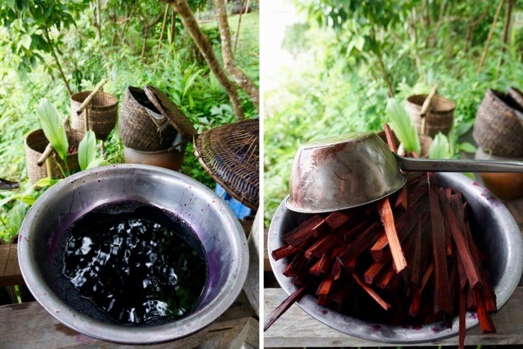 tie dye Luang Prabang