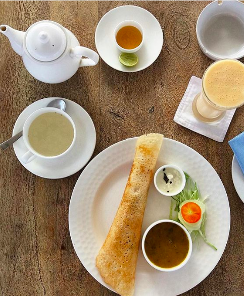 Dosa at Stepwell Cafe