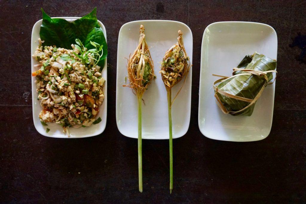 vegan Lao food