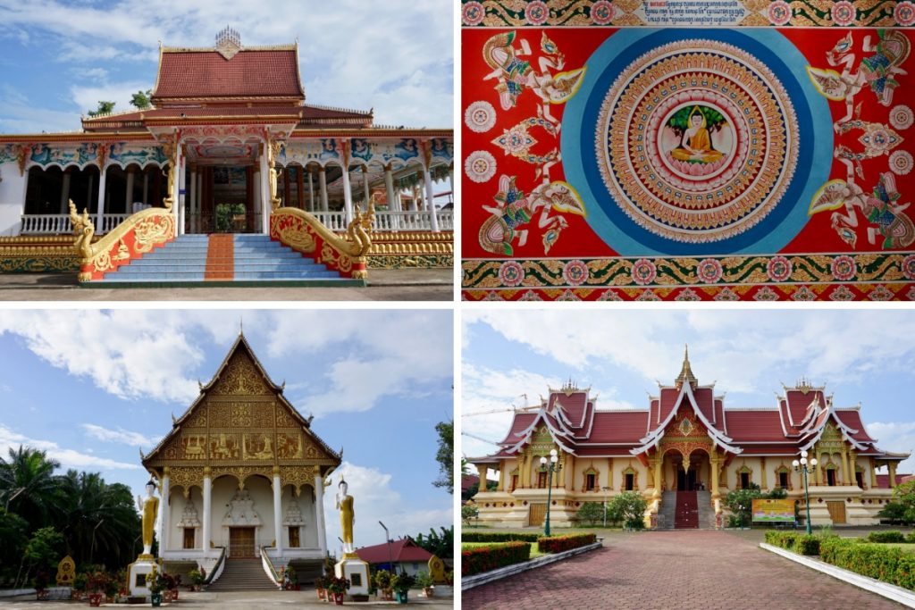 Pha That Luang Thinsg to do Vientiane