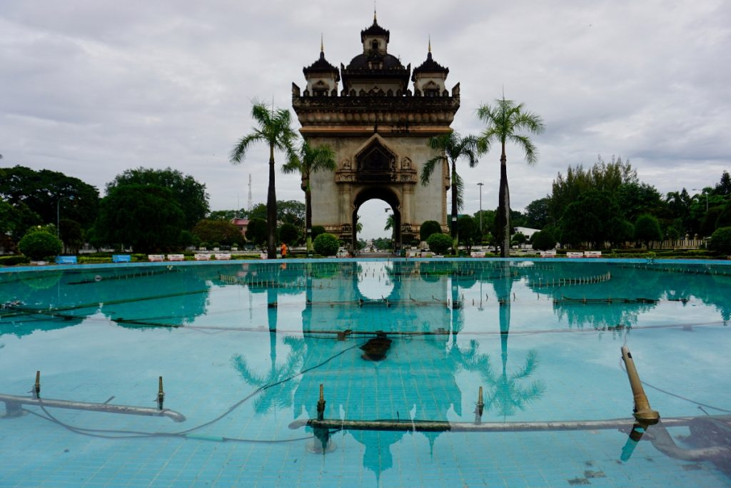 Patouxay Victory Monument Things to do Vientiane