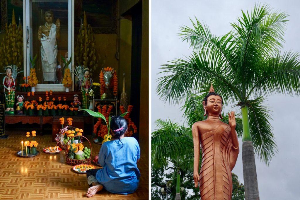 Things to do Vientiane Wat Simuang